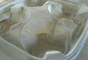 Projecten: Paper moulded mesh